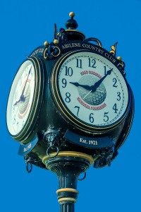 Country Club Clock